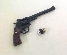 Custom Made 1/6 Scale Police Revolver Pistol dirty harry 44 gun