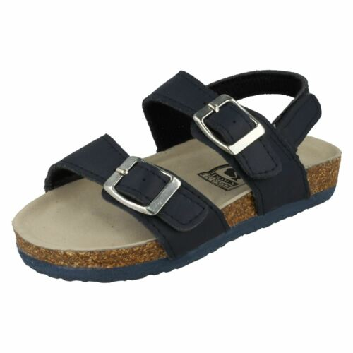 Girls Down To Earth Double Buckle Strap Sandals H0051