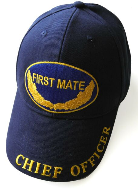 USAF AIR FORCE AVIATION FIRST MATE PILOT EMBROIDERED BASEBALL CAP BRASS SLIDER