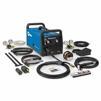 Miller Multimatic 215 Auto-set Multiprocess Welder With Tig Package (951674) on sale