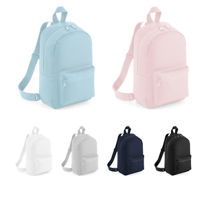 fb59d8518a19 Image is loading Mini-Backpack-Girls-Pastel-Rucksack-Boys-Casual-Small-
