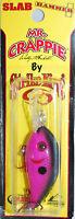 Mr Crappie Strike King Slab Hammer Crappie Crank Bait Subtle Pink Shad 300 Style