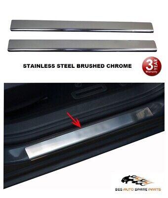 Sandero Stepway 2 pezzi Protezione paraurti posteriore in acciaio inox cromato
