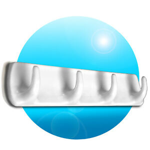 selbstklebende-Universal-Hakenleiste-mit-4-Haken-Kunststoff-Haken-weiss