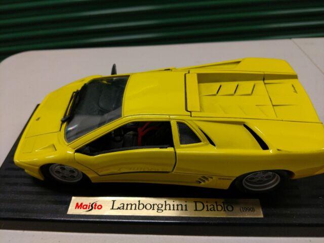 Maisto 1990 Lamborghini Diablo Diecast Car Red 1 18