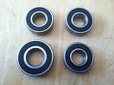 "Go Kart 5/8"" Bearing and 3/4"" Bearings Replacement Front Hub Bearings Lot of 4"