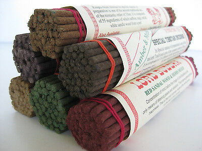 Nepal Himalayan scents ~ 6 TIBETAN INCENSE PACKS ~ natural herbal dhoop sticks