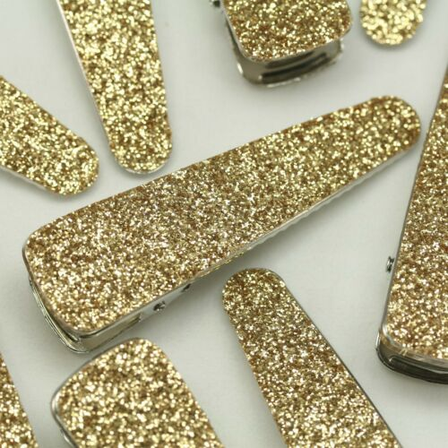 """70mm Alligator Clips for girls baby hair accessory Glitter Hair Clip lot 2.75/"""""""