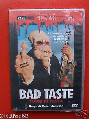 film orrore dvd peter jackson bad taste fuori di testa rarovideo nocturno horror