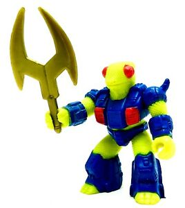 Vintage-Battle-Beasts-Delta-Chameleon-34-Figure-Hasbro-Takara-1987-w-weapon