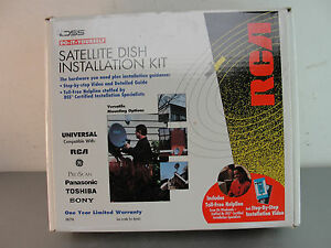 Rca satellite dish installation kit dkit96 universal do it yourself image is loading rca satellite dish installation kit dkit96 universal do solutioingenieria Image collections