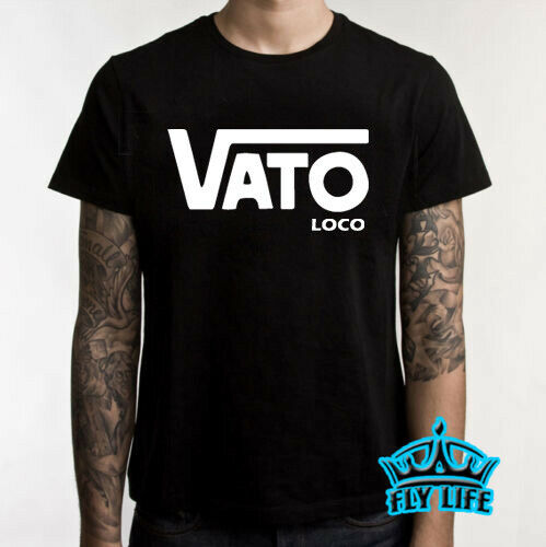 VATO LOCO SHIRT Parody TEE Funny Mexican Spanish Hispanic T-Shirt CHOLO