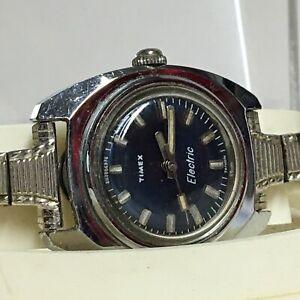 Vintage-Timex-Electric-Wrist-Watch-In-Case