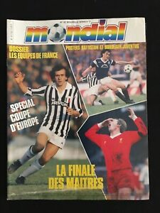 MAGAZINE-MONDIAL-N-62-JUVENTUS-LIVERPOOL-FRANCE-TUNISIE-BORDEAUX