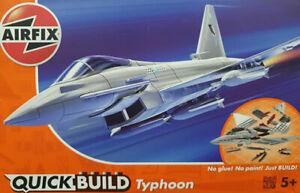 Kit montaje Quick Build Typhoon Airfix