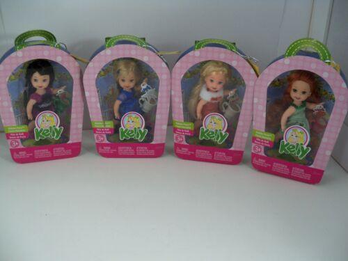 Barbie Doll Holiday Party Lot 4 Kelly Kerstie Nikki Kayla Christmas Set NIB 2006