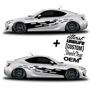 Vinyl Body Graphics Tuning Tear Car Sticker Decal 056 5 Decals