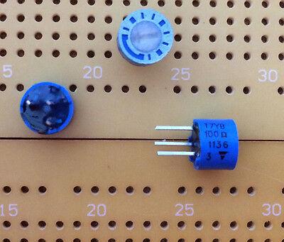 5k ohm Lin 0.5W 1-Turn di CERMET POT Trimmer orizzontale Bi 82M 6.35mm Qtà Multi