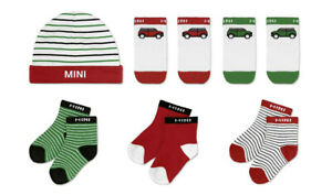 ORIGINAL MINI Baby Geschenkset Cars and Stripes , Baby Mütze & Socken - 5A0A640