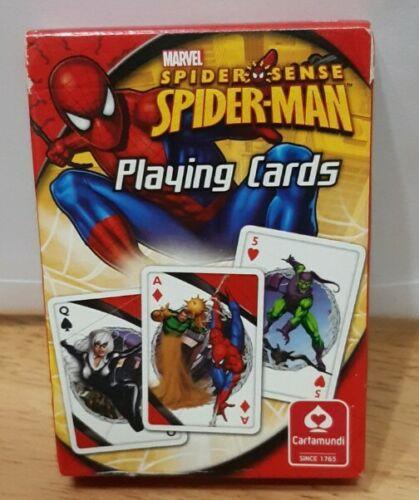 Cartamundi playing cards Spidersense Spiderman.