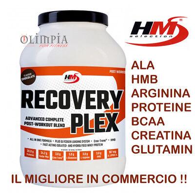 Hm Selection - Recovery Plex - Proteine Bcaa Hmb Creatina Arginina Glutammina Sii Amichevole In Uso