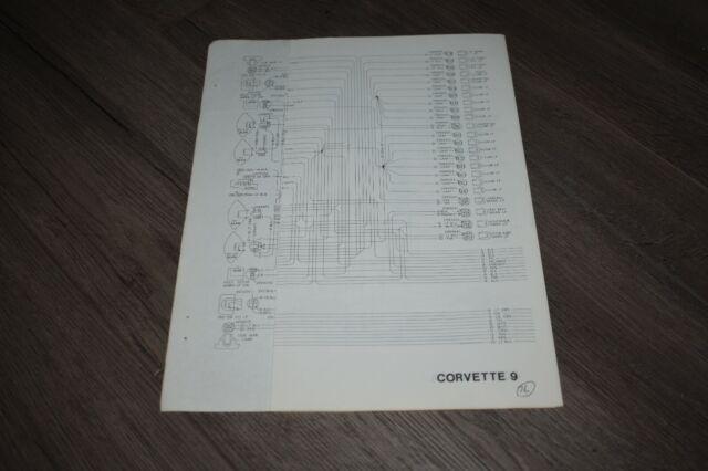 1976 Chevy Corvette Wiring Diagrams