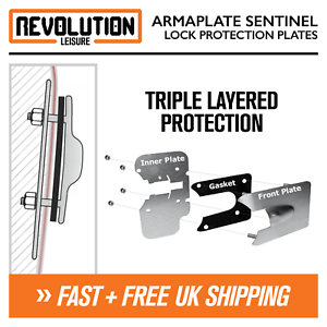 Ford Transit Connect 2014+ Armaplate Sentinel Van Door Lock Protection Plates