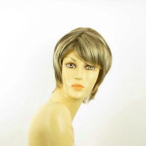 Perruque-femme-mechee-courte-blond-clair-meche-cuivre-chocolat-OCEANE-15613H4