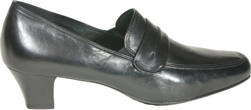 Sioux Escarpins Noir Classique Classique Classique Cuir saccetto NEUF   Soldes    Facile à Nettoyer Surface  4122c8