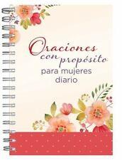 ORACIONES CON PROP=SITO PARA MUJERES DIARIO PERSONAL / PRAYERS WITH PURPOSE FOR