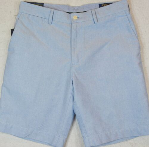 "Polo Ralph Lauren Shorts Blue Oxford Classic Fit 10/"" 40T 42T NWT"