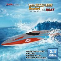 Tfl Hobby 1111 Rocket 2.4g Racing Brushless Electric Water Cooling Rc Boat J0r2