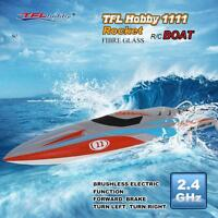 Tfl Hobby 1111 Rocket 2.4g Racing Brushless Electric Water Cooling Rc Boat B9a5