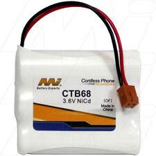 CTB68 3.6V NiCd Cordless Phone Battery