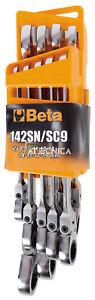 Serie-9-chiavi-a-cricchetto-Beta-Tools-142SN-SC9-combinate-snodate-con-supporto