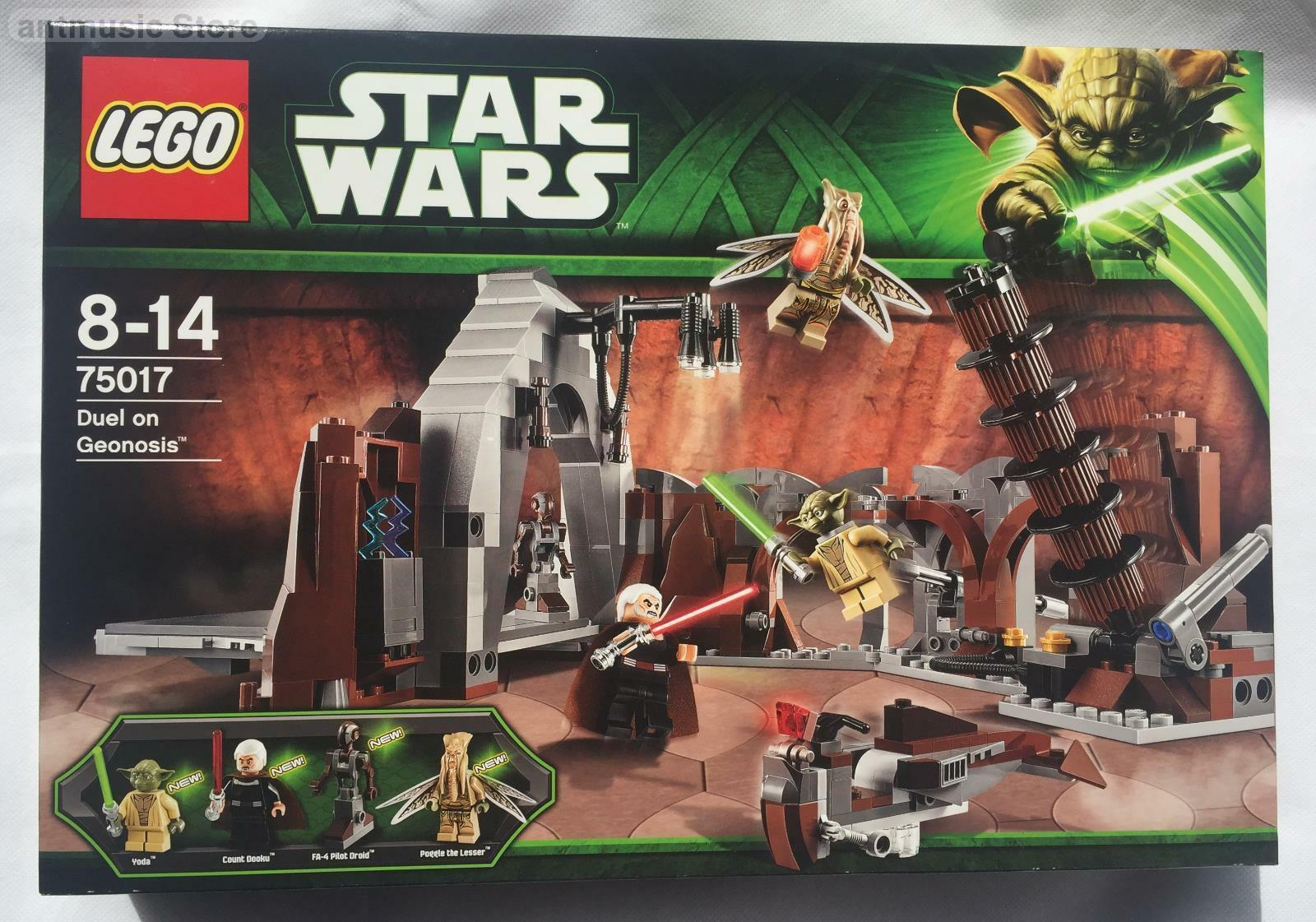 Star Wars LEGO Duel on Geonosis 75017 NEW MINT