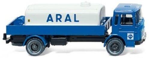 """Wiking 080899-camión con depósito combustible /_ nuevo//en el embalaje original man 1:87 /""""Aral/"""""""