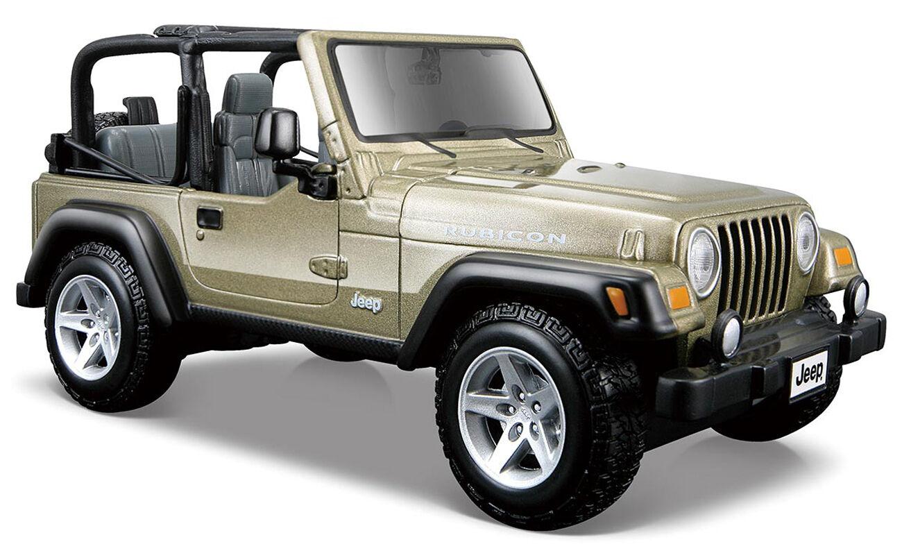 Jeep wrangler rubicon maisto 27 1  27 maisto 71a733