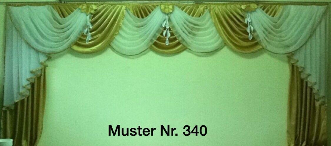 Cortinas decorativas a medida cortinas sobre visillos, hecha a medida nº 340