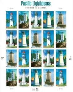 2009-Gulf-Coast-Lighthouses-Sc-4409-4413-full-MINT-PANE-of-20