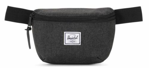 Herschel Fourteen Hip Pack Gürteltasche Tasche Black Crosshatch Schwarz Neu
