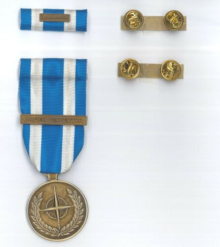 Medal and Tape Missione Libya Unified Protector