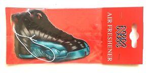 0787adf3f98a Air Jordan XII 12 Gamma Blue Sneakers Shoes Hanging Car Home Scent ...