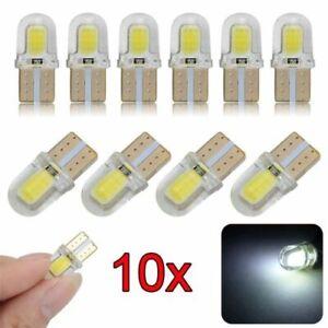 10x T10 194 168 501 LED CANBUS Weiß COB 8 SMD Kennzeichenbeleuchtung Birne Lampe