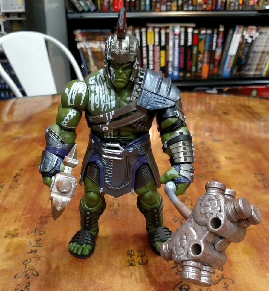 2017 MARVEL THE HULK GLADIATOR BUILD A FIGURE BAF