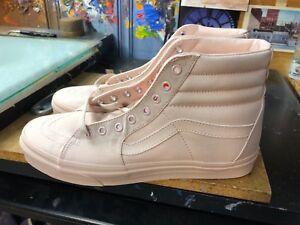 Vans SK8-Hi (Mono Canvas) Peach Blush Size US 10 Men s VN0A38GEKZH ... 72949241a936