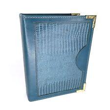 Vintage Marc Allyn Business Card Holder Book File Binder Organizer Keeper
