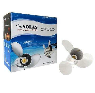 Solas 3231-103-12 Prop Yamaha 10.25/'/'X12/'/' Pitch 3 Blade Prop