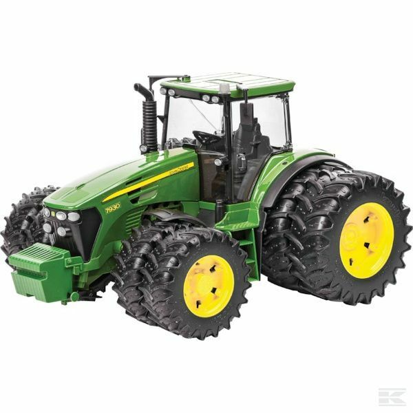Bruder John Deere 7930 Tractor With Dual Wheels 1 16 Scale Model Age 3+