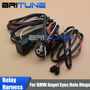 Details about Relay Wiring Harness Kit Fade On/Off For BMW Angel Eyes on